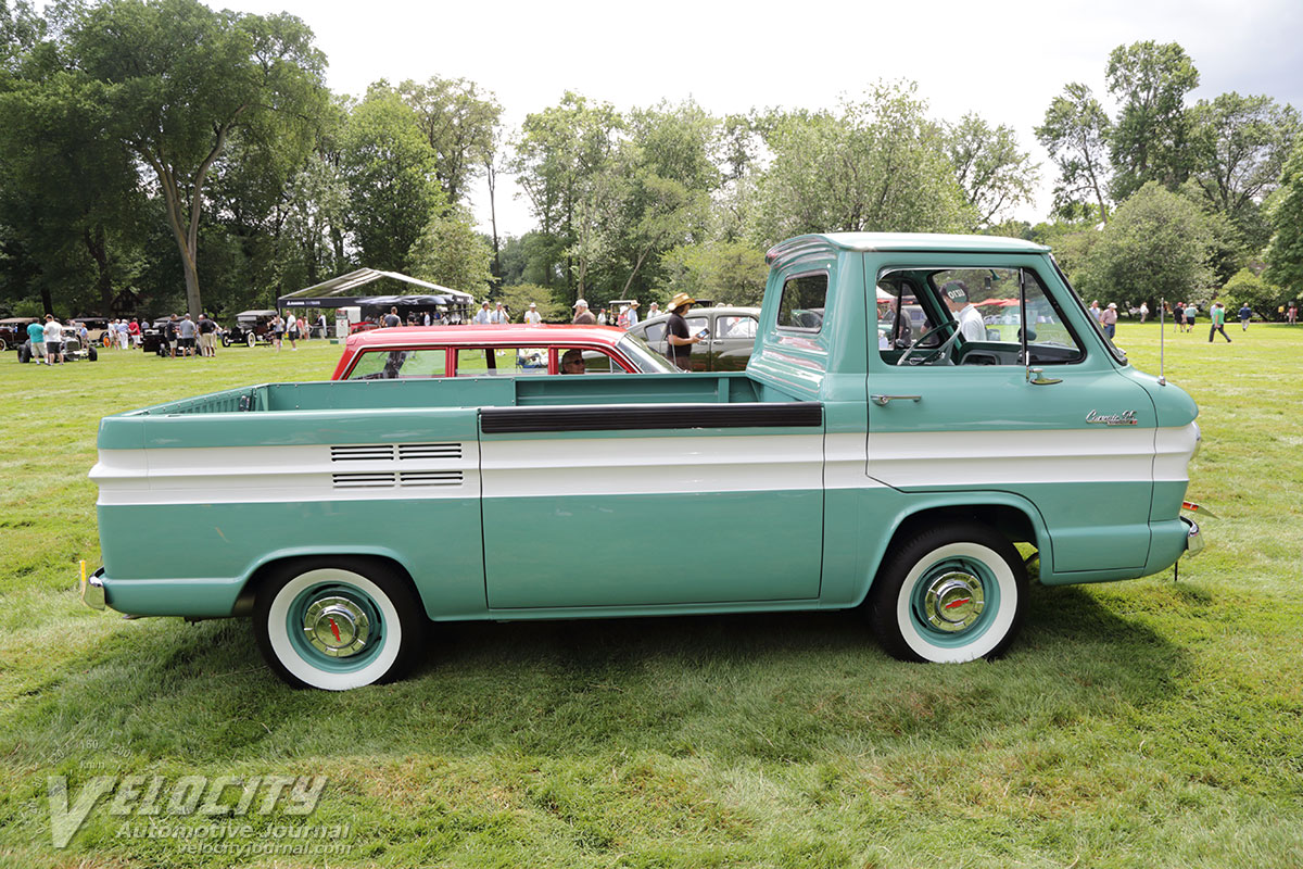 1961 Chevrolet Corvair 95 Rampside Pickup Pictures Pick Up