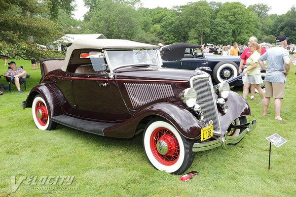 1934 Ford Model 40 Deluxe Roadster