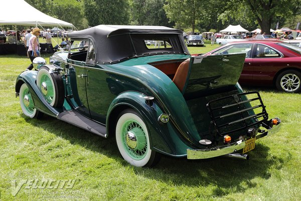 1934 Vauxhall BX Roadster
