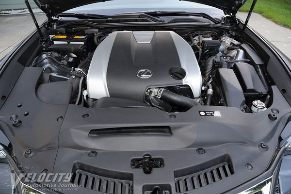 2017 Lexus RC Engine