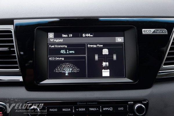 2017 Kia Niro Instrumentation