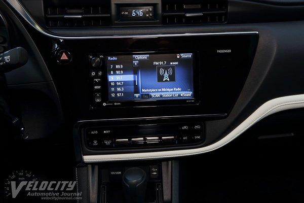 2017 Toyota Corolla iM Instrumentation