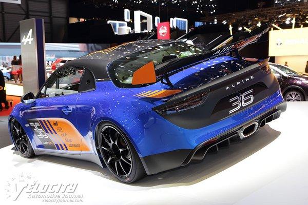 2018 Alpine A110 GT4