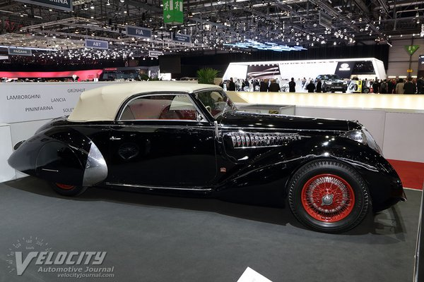 1938 Alfa Romeo 6C2300B Lungo
