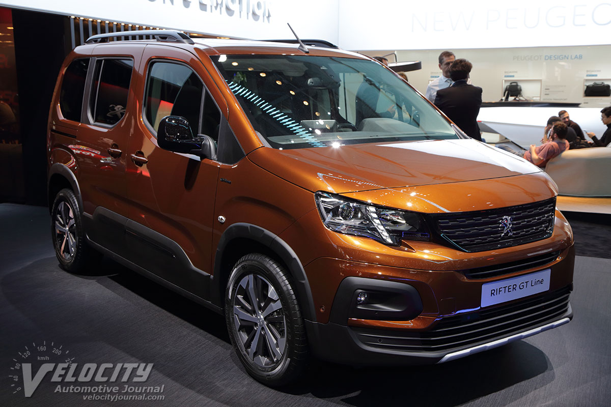 2019 Peugeot Rifter Pictures