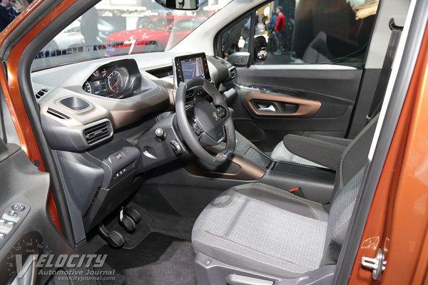 2019 Peugeot Rifter Interior