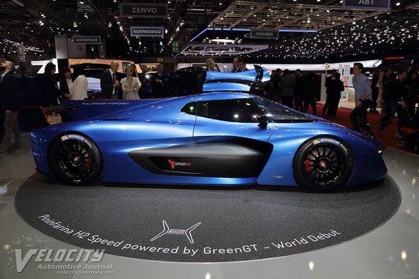 2018 Pininfarina H2 Speed Prototype