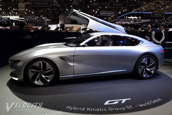 2018 Pininfarina HK GT