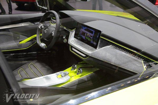 2018 Skoda Vision X Interior
