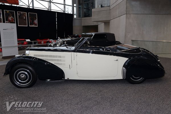 1938 Bugatti Type 57C Stelvio Cabriolet