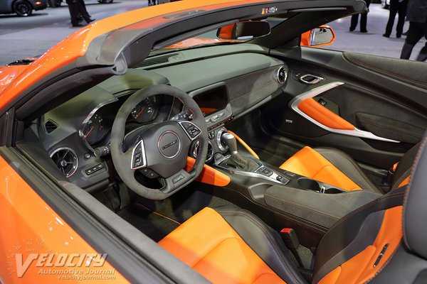 2018 Chevrolet Camaro Hot Wheels edition Convertible Interior