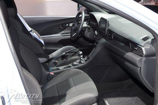 2019 Hyundai Veloster Interior