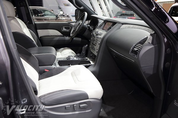 2019 Infiniti QX80 Limited Interior