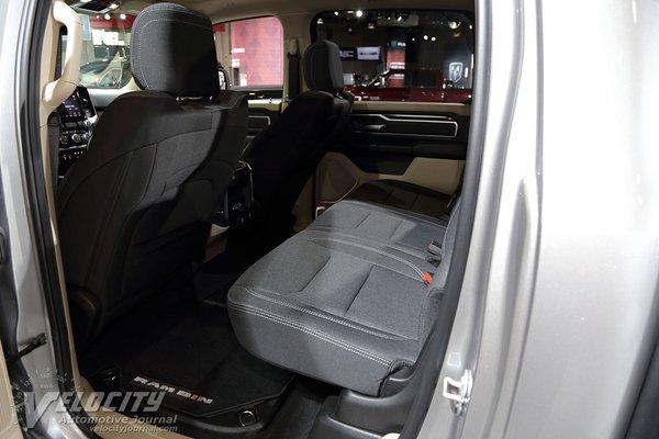 2019 Ram 1500 Crew Cab Interior