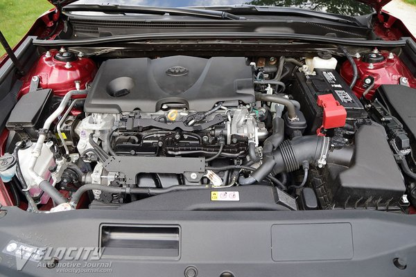 2018 Toyota Camry XLE Engine