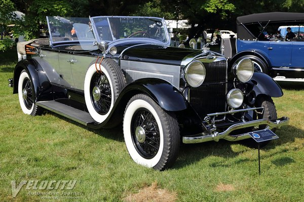 1929 Lincoln L Dual Cowl Phaeton