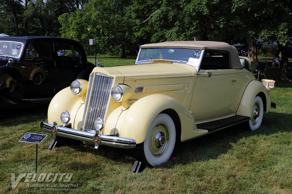 1936 Packard 120-B Convertible