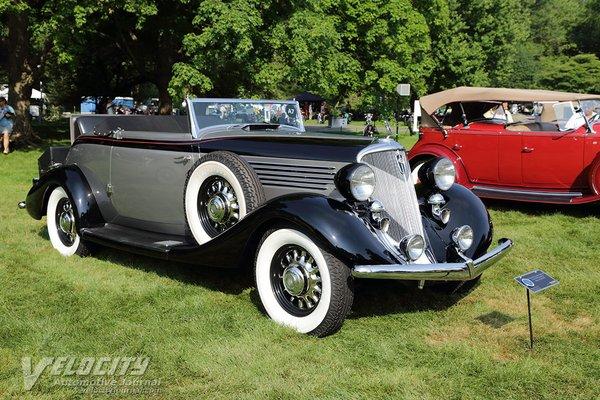 1934 Studebaker President convertible roadster