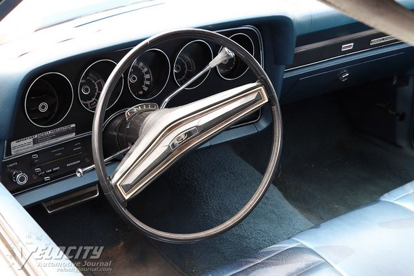 1972 Ford Gran Torino Coupe Interior