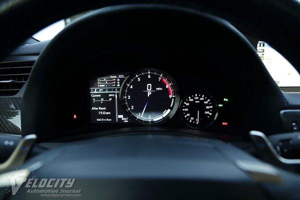 2018 Lexus GS F Instrumentation