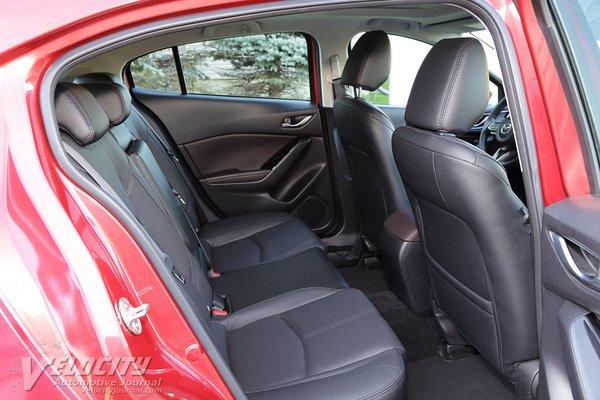 2018 Mazda Mazda3 Grand Touring 5d Interior