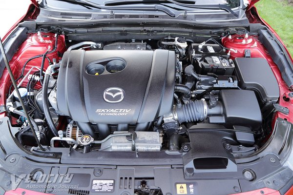 2018 Mazda Mazda3 Grand Touring 5d Engine