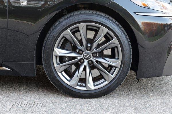 2018 Lexus LS 500 F Sport Wheel