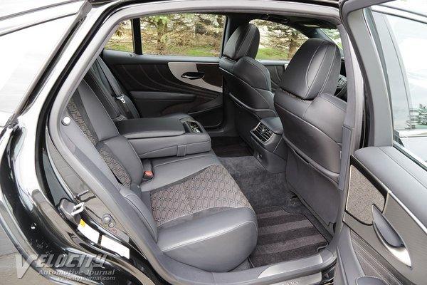 2018 Lexus LS 500 F Sport Interior