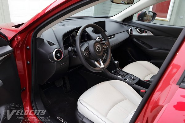 2018 Mazda CX-3 Grand Touring Interior