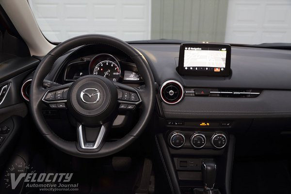 2018 Mazda CX-3 Grand Touring Instrumentation