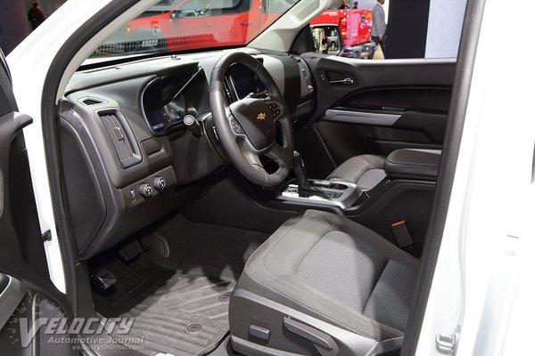 2019 Chevrolet Colorado Crew Cab Interior