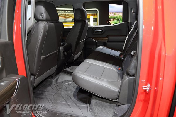 2019 Chevrolet Silverado 1500 Crew Cab Interior