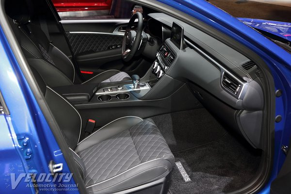 2019 Genesis G70 Interior
