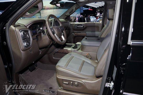 2019 GMC Sierra 1500 Crew Cab Interior