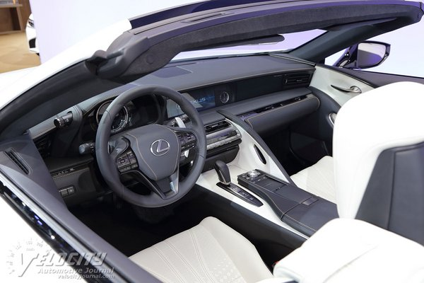2019 Lexus LC Convertible Interior