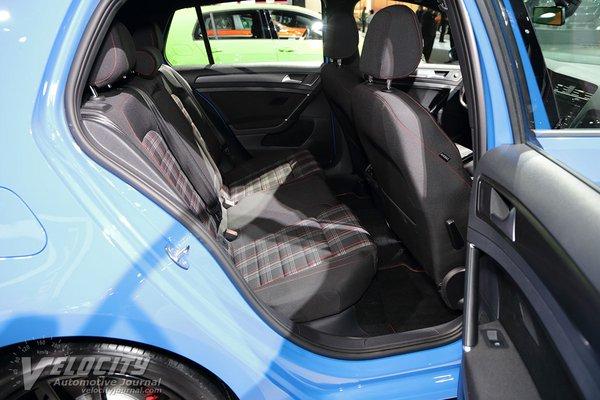 2019 Volkswagen Golf GTI 5d Interior