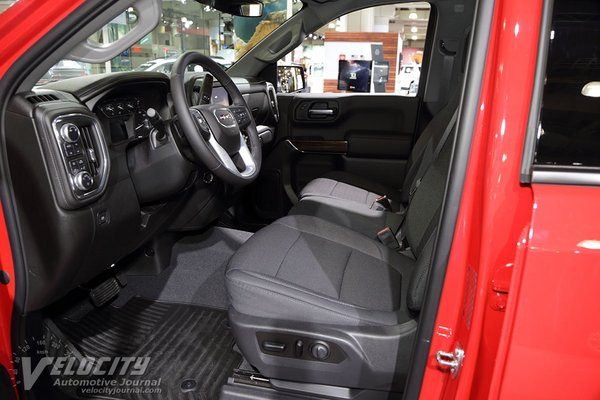 2019 GMC Sierra 1500 Double Cab Interior