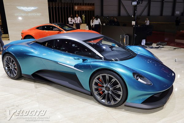 2019 Aston Martin Vanquish Vision