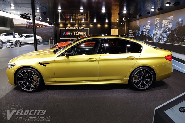 2019 BMW 5-Series M5 Competition sedan