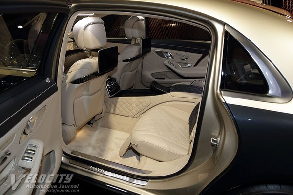 2019 Mercedes-Benz S-Class Maybach S 650  Interior