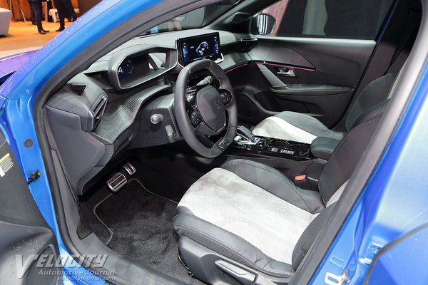 2020 Peugeot 208 GT Line Interior