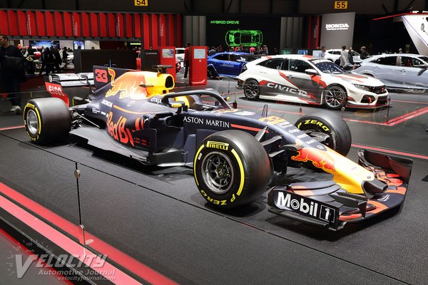 2019 Red Bull Racing Aston Martin Red Bull F1