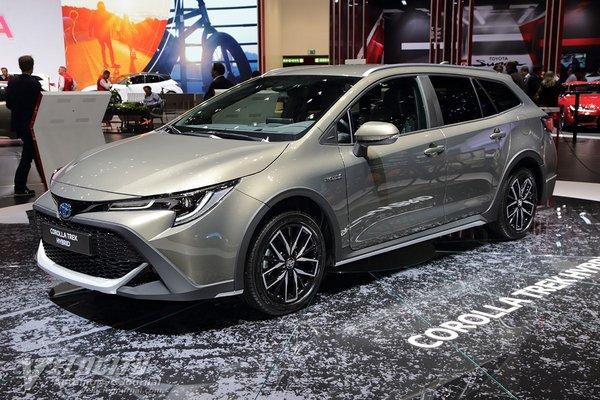 2020 Toyota Corolla Trek wagon