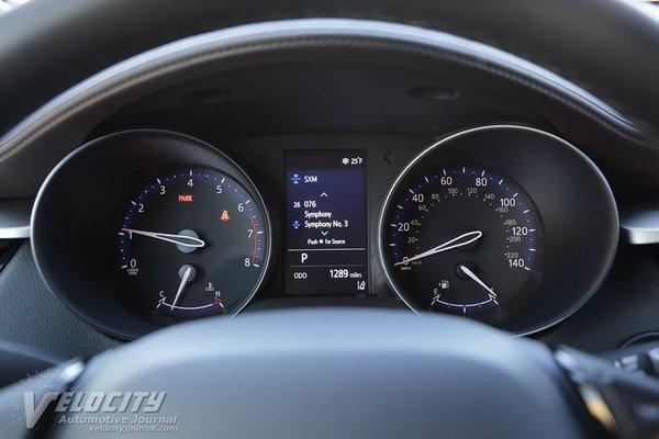 2019 Toyota C-HR Instrumentation