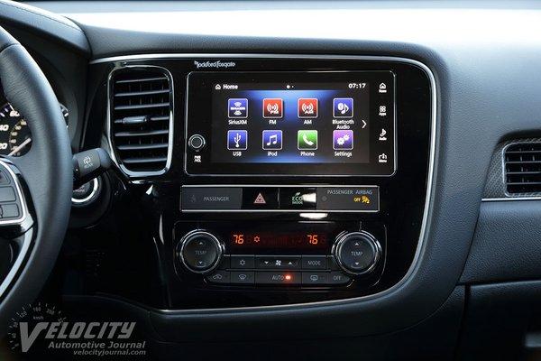 2019 Mitsubishi Outlander SEL Instrumentation