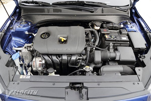 2019 Kia Forte EX Engine