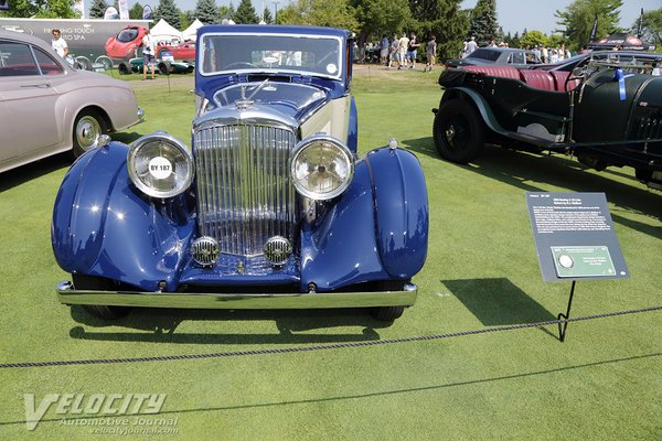 1935 Bentley 3 1/2 Litre Saloon by H.J. Mulliner