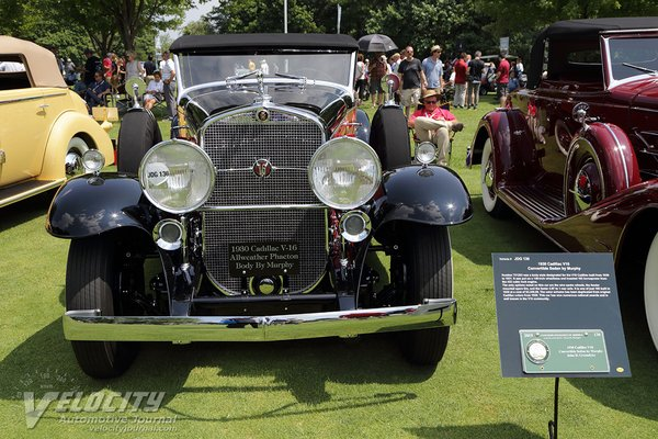 1930 Cadillac V16 Convertible Sedan by Murphy