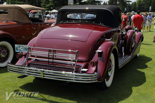 1933 Cadillac Fleetwood Convertible Coupe