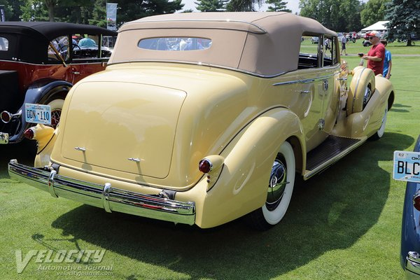 1935 Cadillac V16 Imperial Convertible Sedan by Fleetwood